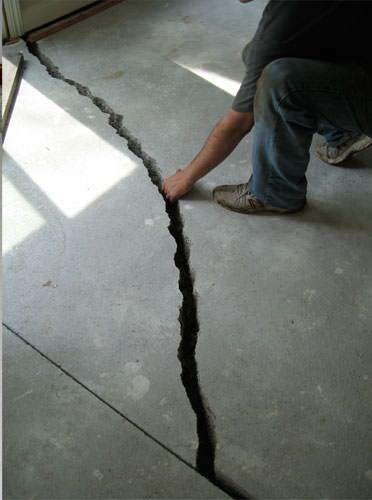 foundation crack repair in edmonton