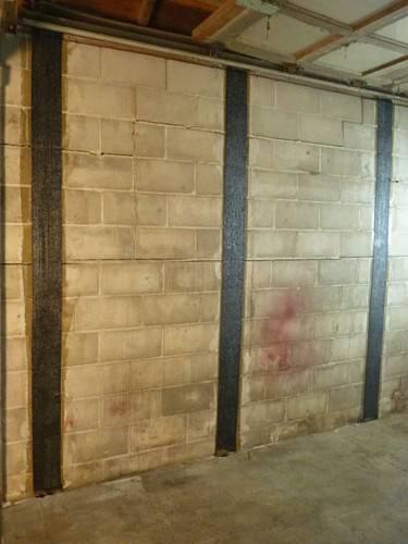 Foundation Wall Stabilization In Louisville Lexington Frankfort - Cracked tile foundation problem