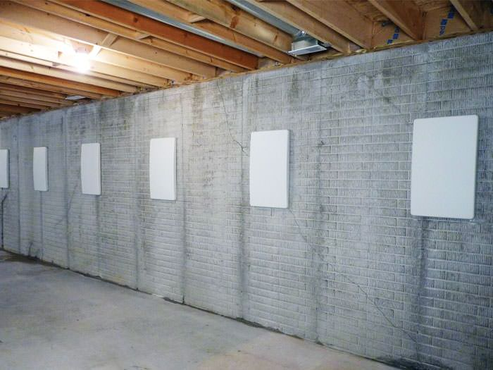 straightening tilting foundation walls by certified foundation repair
