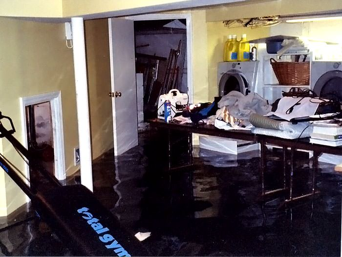 Basements Flooding From Plumbing Failures In Louisville
