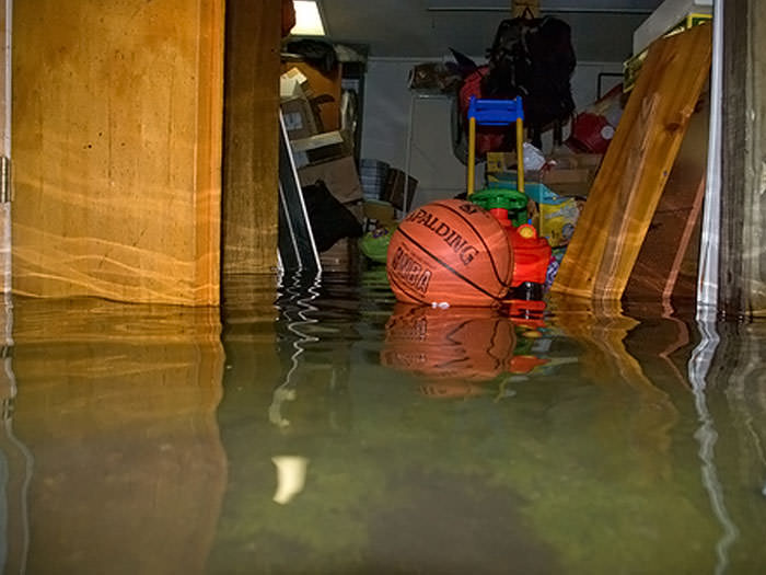 flooded basement. Brilliant Basement A Flooded Basement Bedroom In Independence Intended Flooded Basement