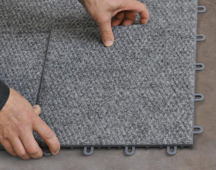 ... Interlocking Carpeted Floor Tiles Available In Frankfort, Kentucky ...