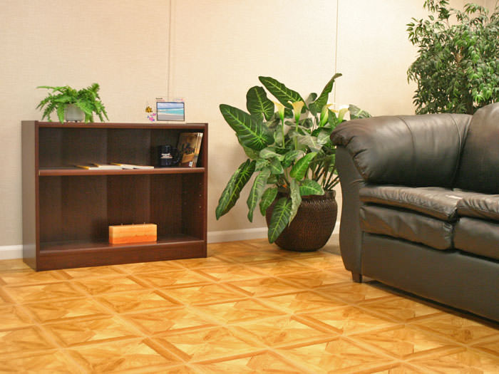 ... Flooring With A Parquet Tile Design Installed In Covington, Kentucky