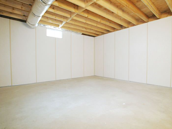 Beau Our ZenWall™ Insulated Basement Wall Panels Installed In A Basement