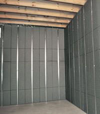 Thermal insulation panels for basement finishing in Covington, Kentucky